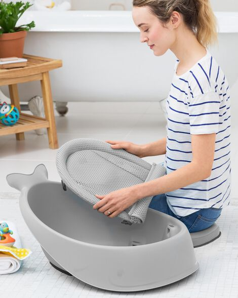 Moby Smart Sling 3-Stage Tub - Grey