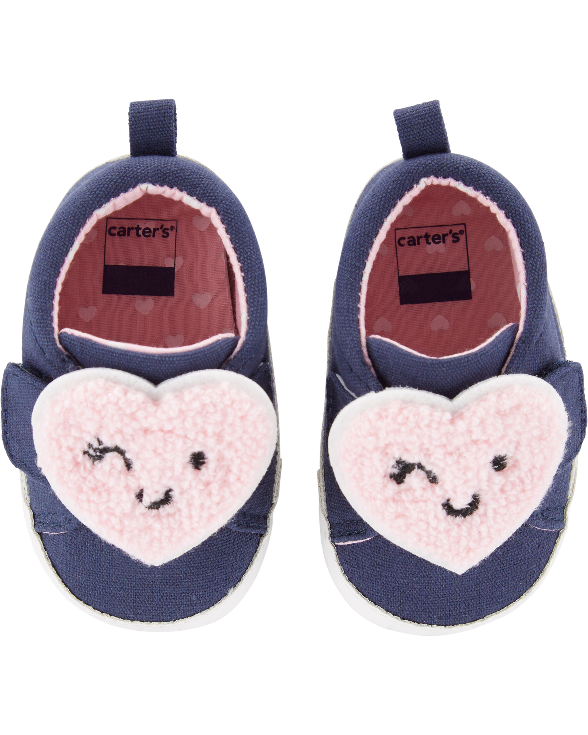 Carter's Heart Baby Shoes | skiphop.com