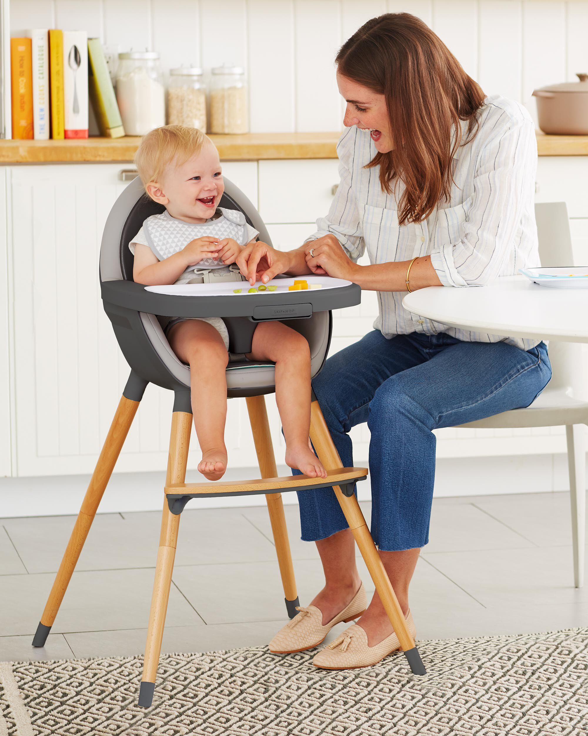 Tuo Convertible High Chair ... & Tuo Convertible High Chair | Skiphop.com