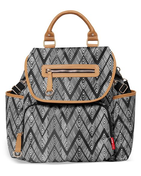 Grand Central Take It All Backpack - Zig Zag Zebra