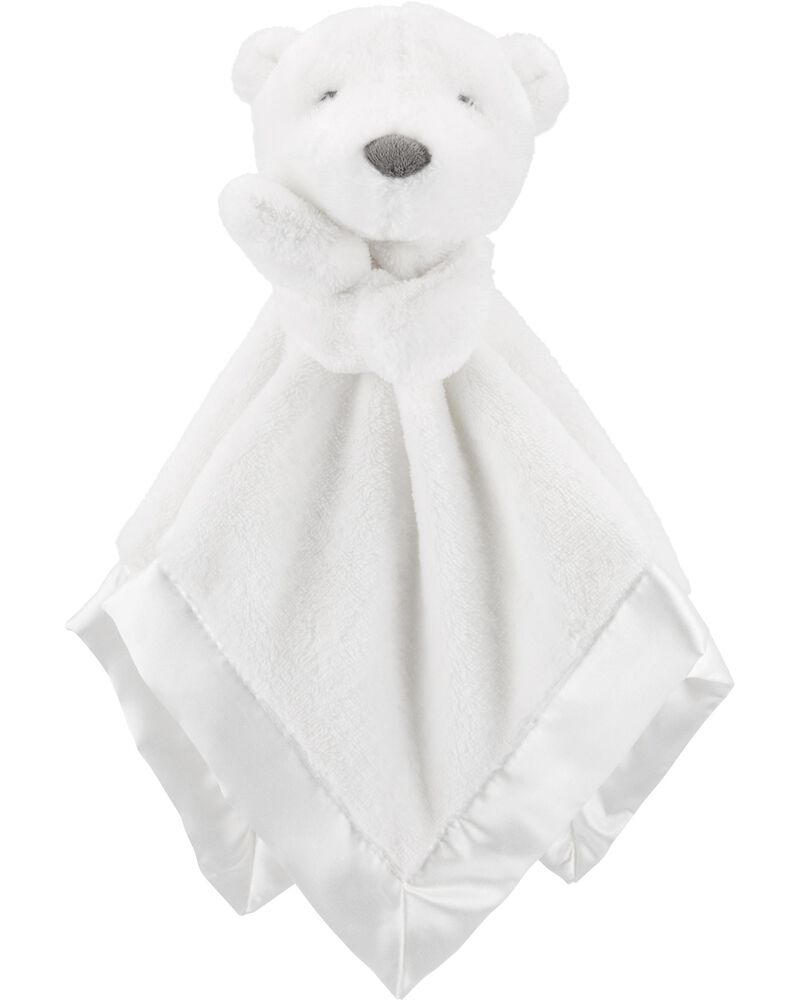 NEW Blanket Teether Bear plush with activities