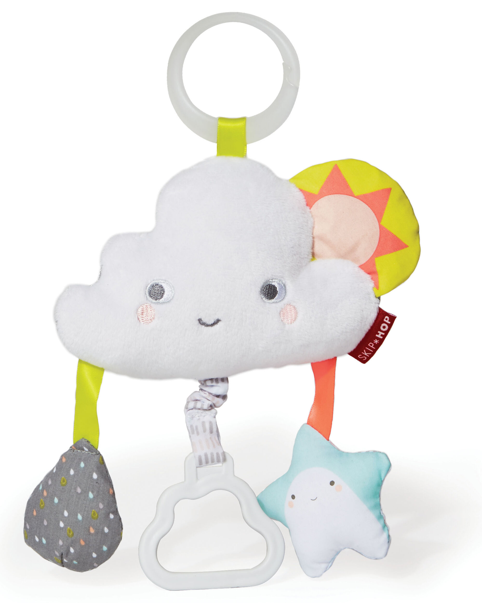 Silver Lining Cloud Jitter Stroller Baby Toy Skiphop Com