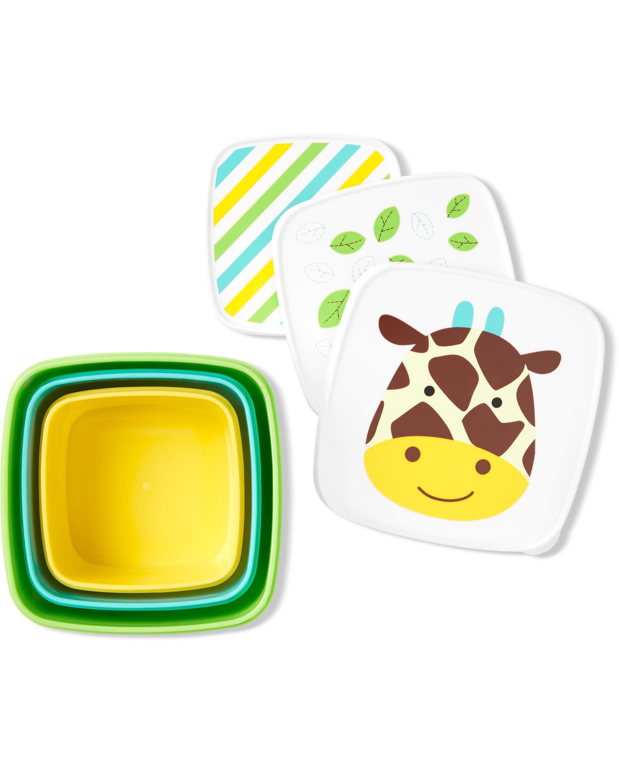 Zoo Snack Box Set