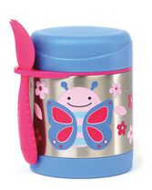 Zoo Insulated Little Kid Food Jar, Butterfly, hi-res