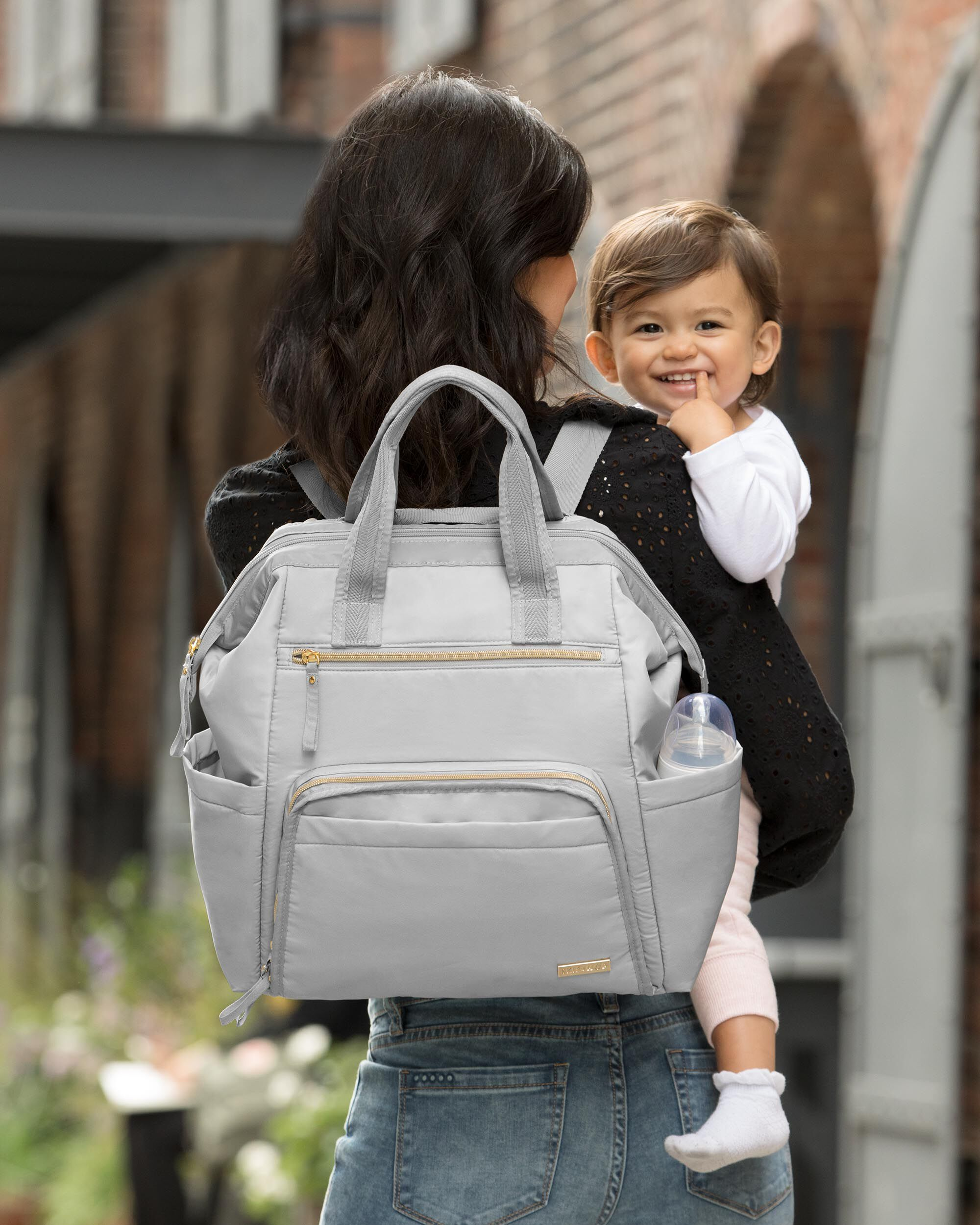 18dcaa2cd1fd0 Mainframe Wide Open Diaper Backpack | Skiphop.com