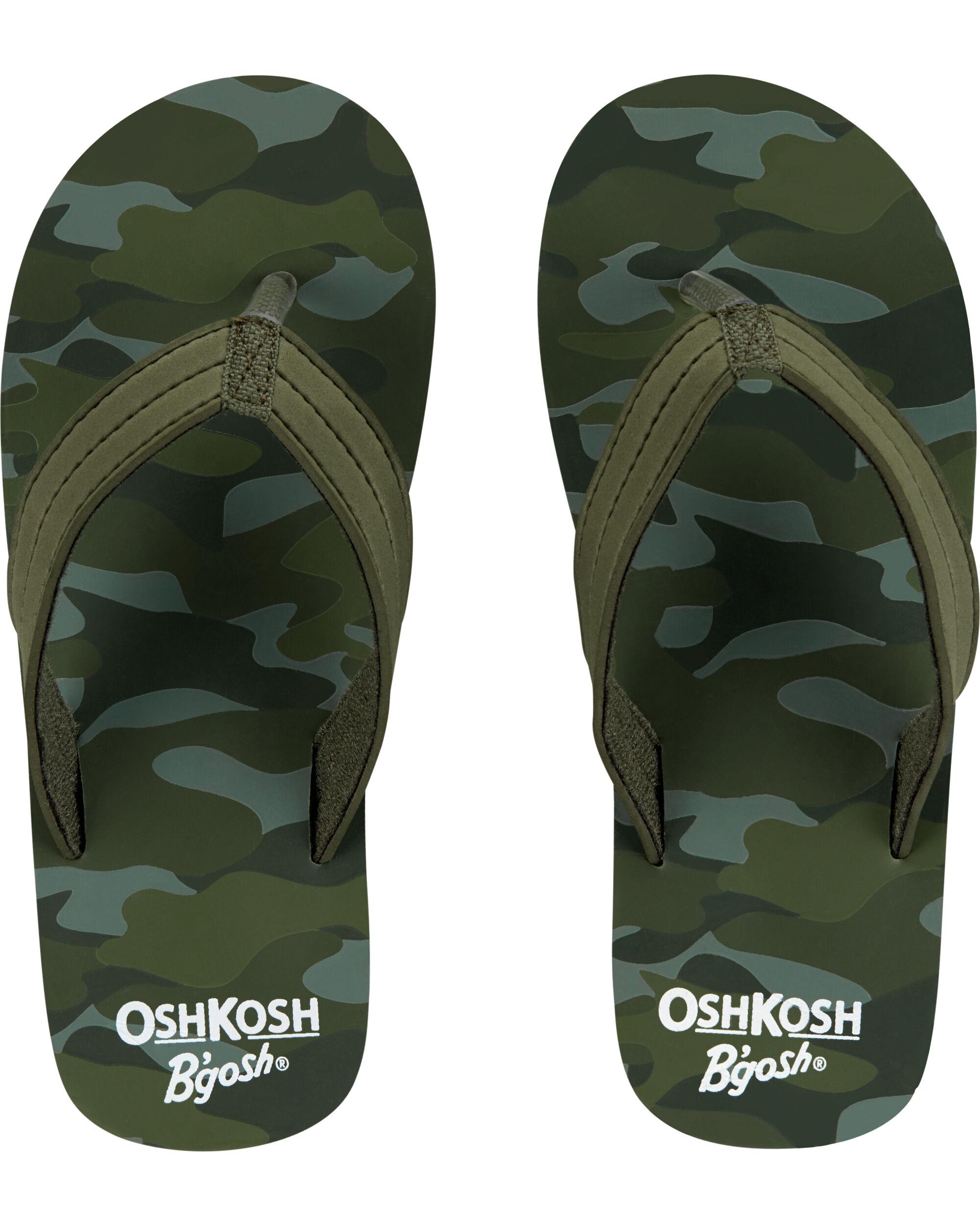 OshKosh Camo Flip Flops   skiphop.com