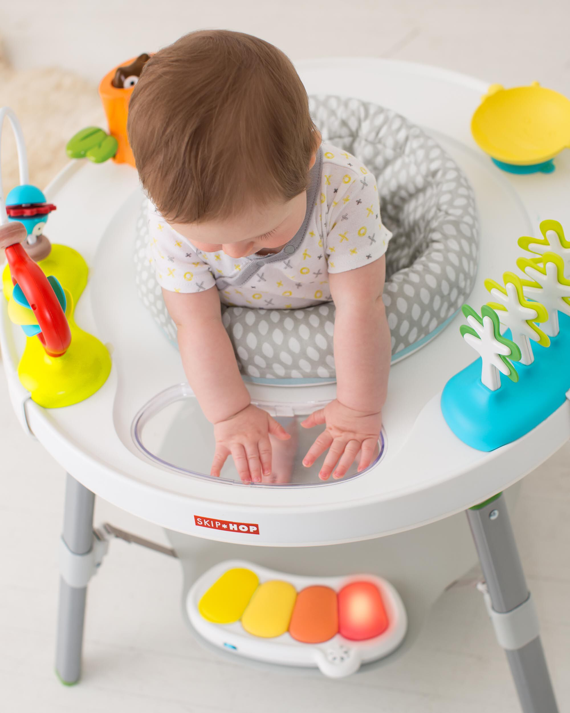 03aa208d6 Explore   More Baby s View 3-Stage Activity Center