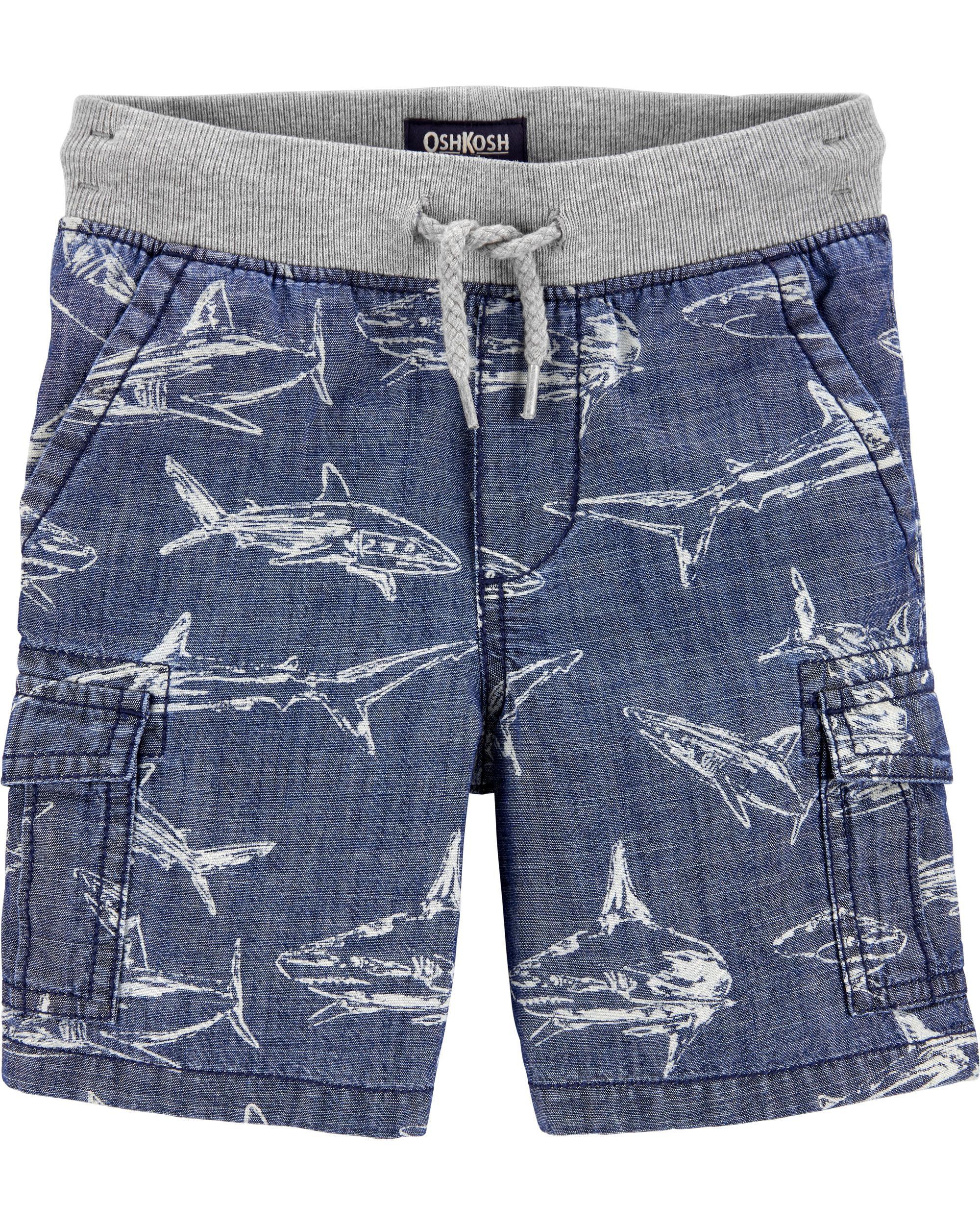 OshKosh Bgosh Cargo Shorts Print Toddler//Kid
