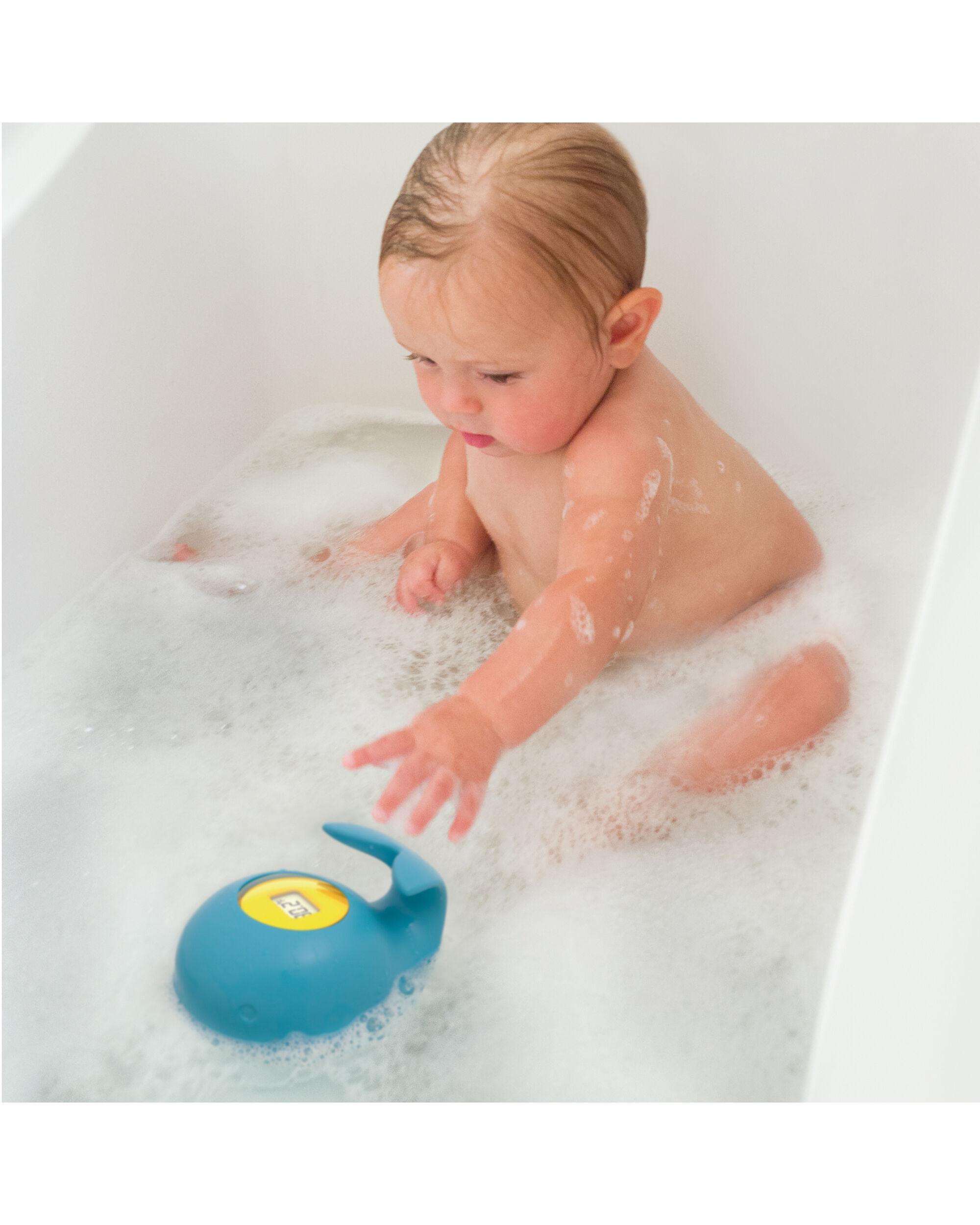 Skip Hop Moby Tub Thermometer Blue
