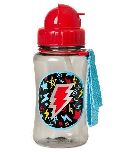 Forget Me Not Straw Bottle - Lightning Bolt