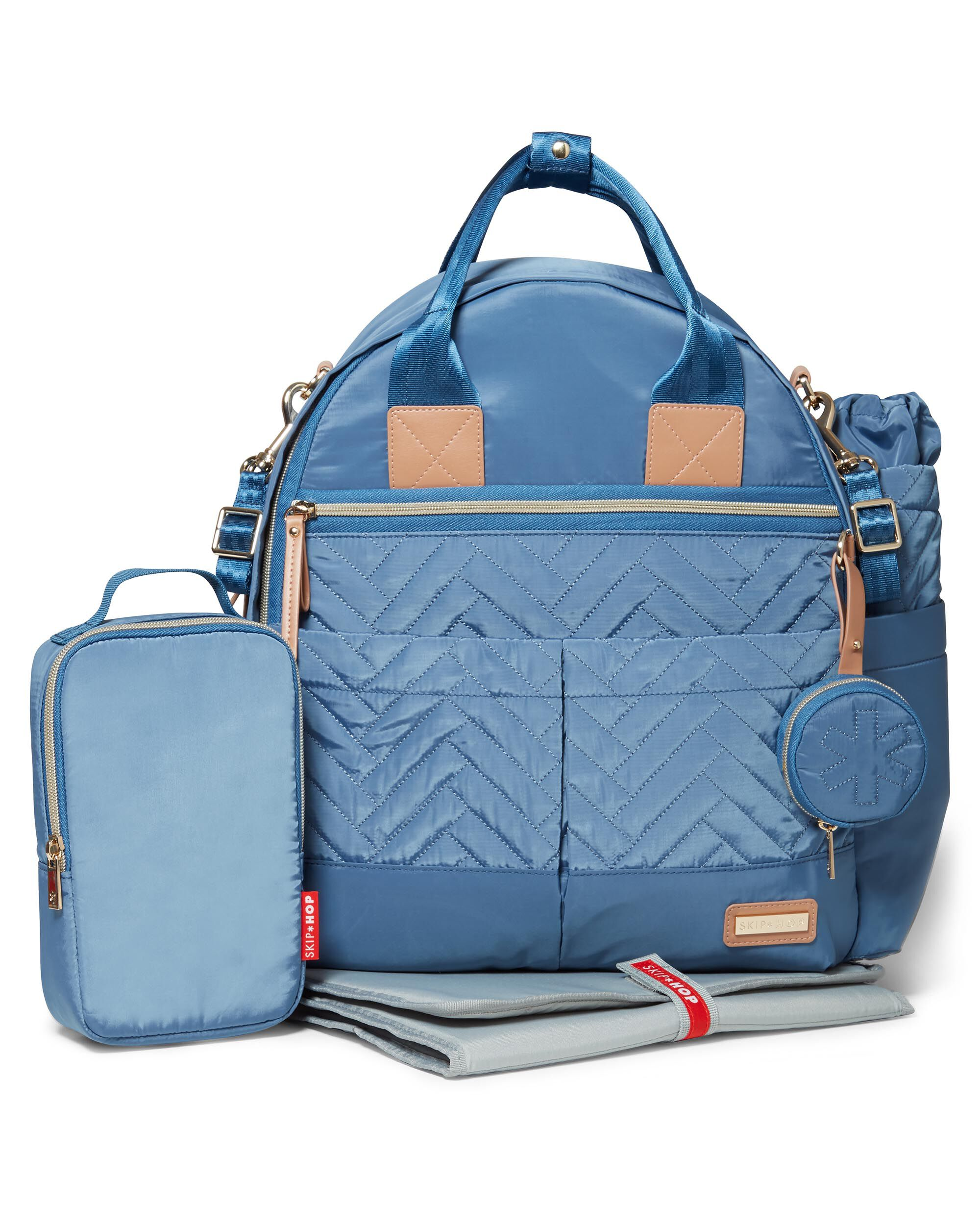 51ab18db94c6 ... Suite by Skip Hop 6-in-1 Diaper Backpack Set ...