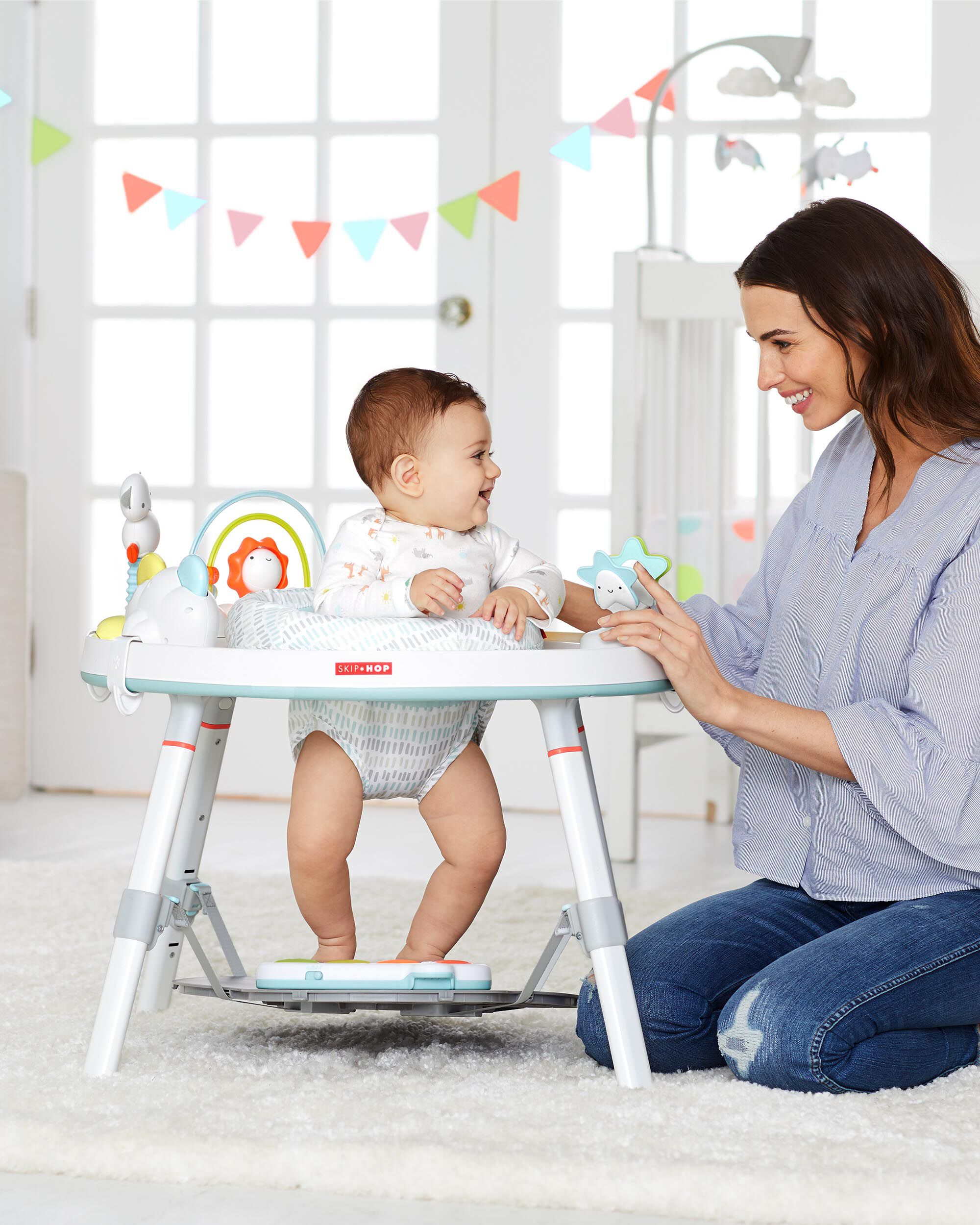6a635d68abcc Silver Lining Cloud Baby s View Activity Center