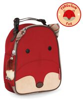 Zoo Lunchie Insulated Lunch Bag Fox, Fox, hi-res