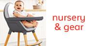 nursery and gear