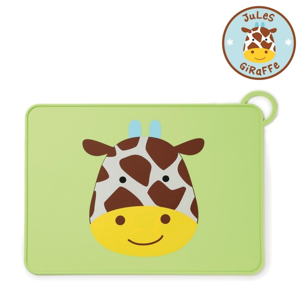 Zoo Fold & Go Silicone Placemat