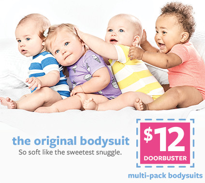 the original bodysuit | $12 doorbuster multi-pack bodysuits