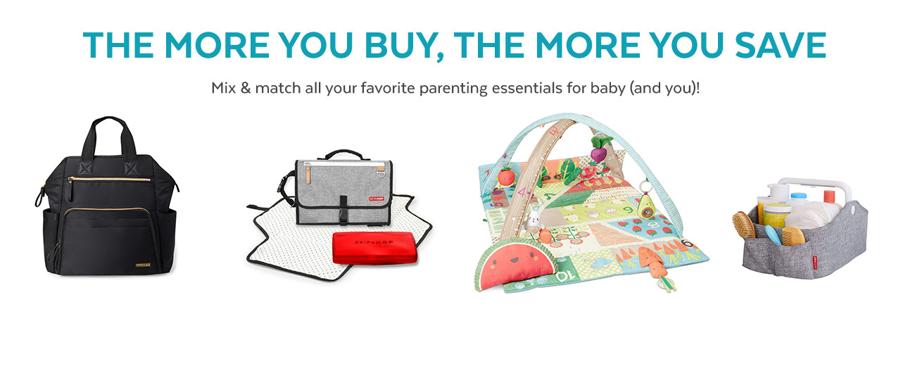 THE MORE YOU BUY, THE MORE YOU SAVE | MIX AND MATCH ALL YOUR FAVORITE PARENTING ESSENTIALS FOR BABY AND YOU