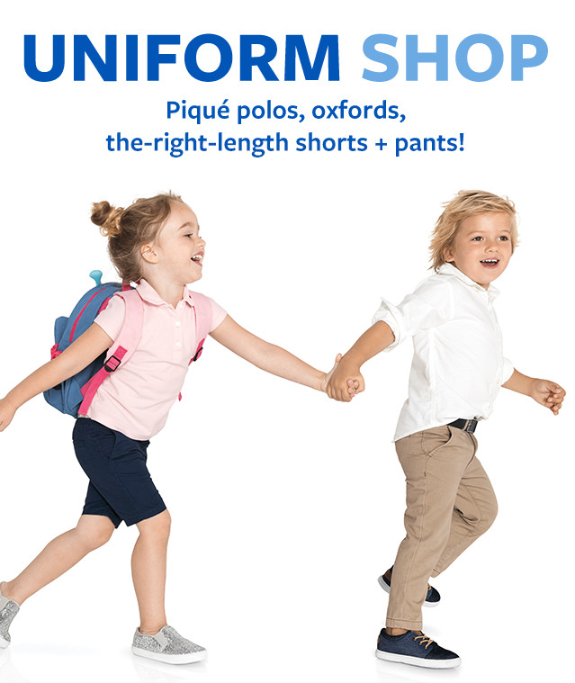 Uniform Shop Doorbusters $6 and Up *Savings Based on MSRP