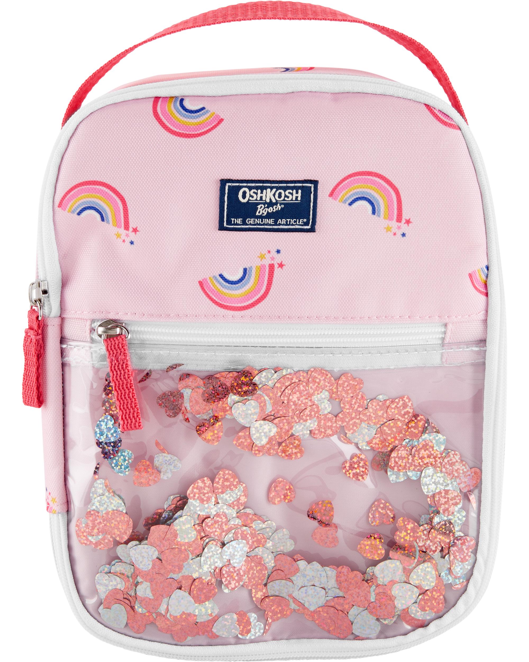 OshKosh Rainbow Confetti Lunch Bag   skiphop com